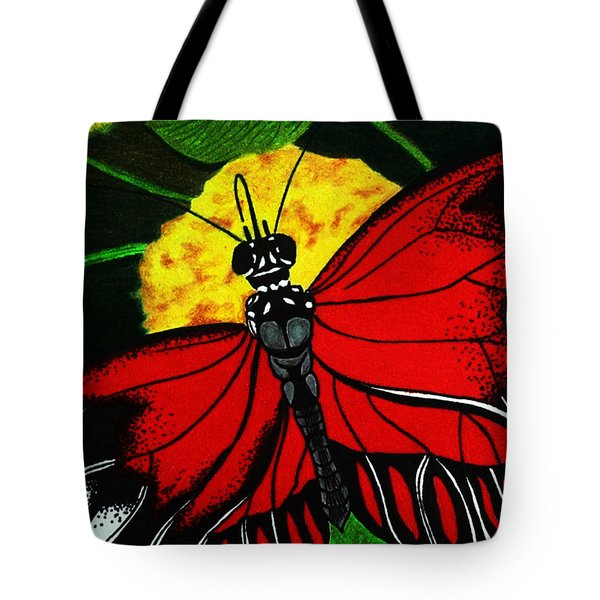 The Monarch Tote Bag by Ramneek Narang