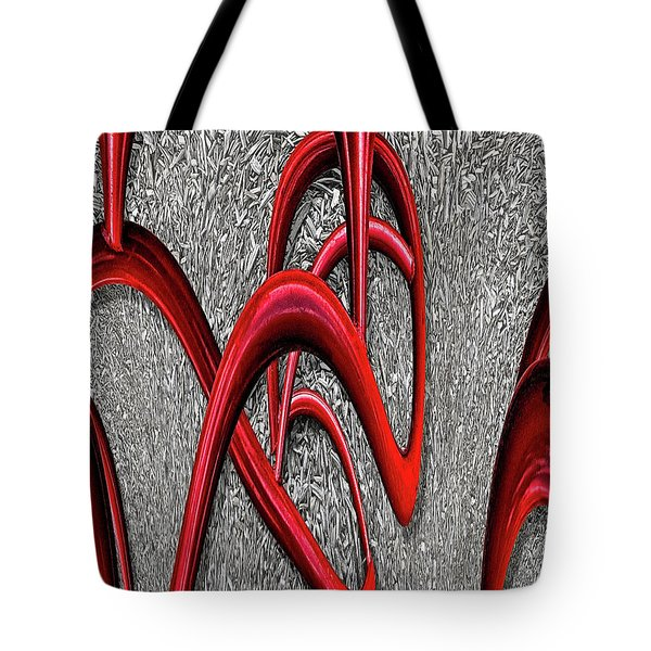 The Monday Lipstick Caper Tote Bag