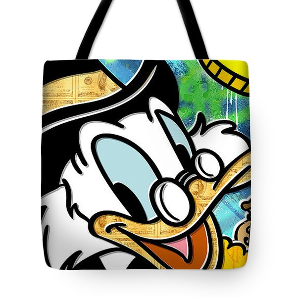 The Money Duck Tote Bag
