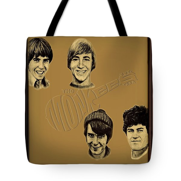 The Monkees  Tote Bag