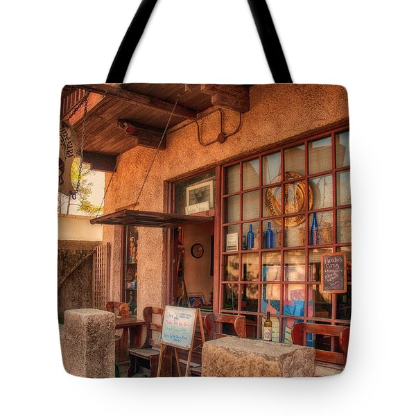 The Monk's Vineyard Tote Bag