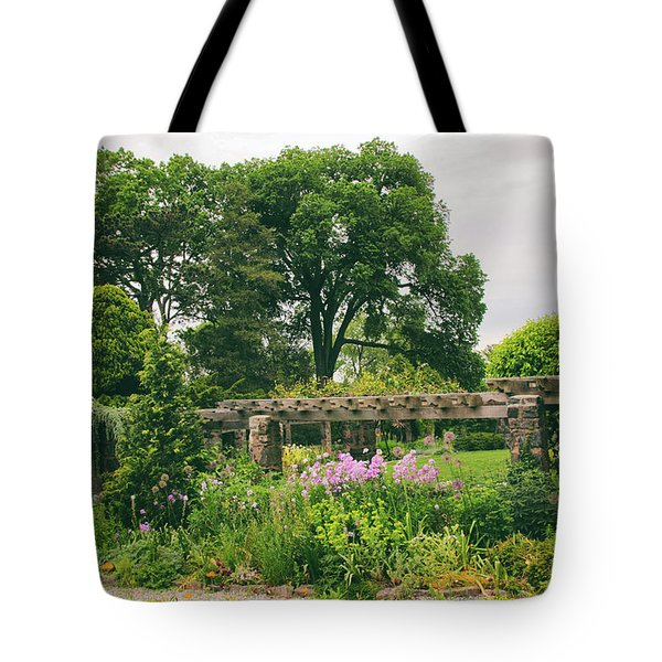 The Monocot Garden Tote Bag by Jessica Jenney