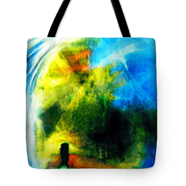 The Monster In Me Tote Bag