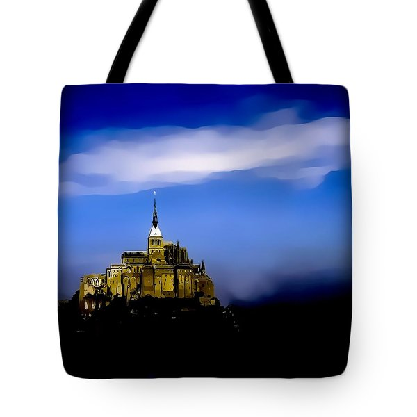 Le Mont Saint Michel - France Tote Bag