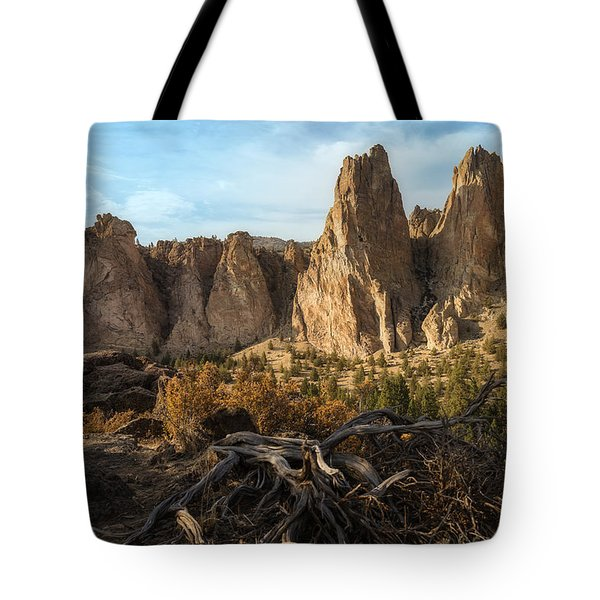 The Monument At Smith Rock Tote Bag