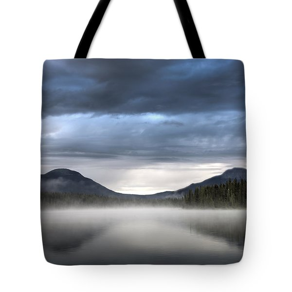 The Moods Of Fish Lake Tote Bag