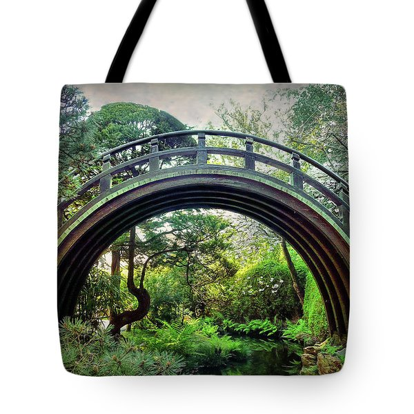 The Moon Bridge Tote Bag