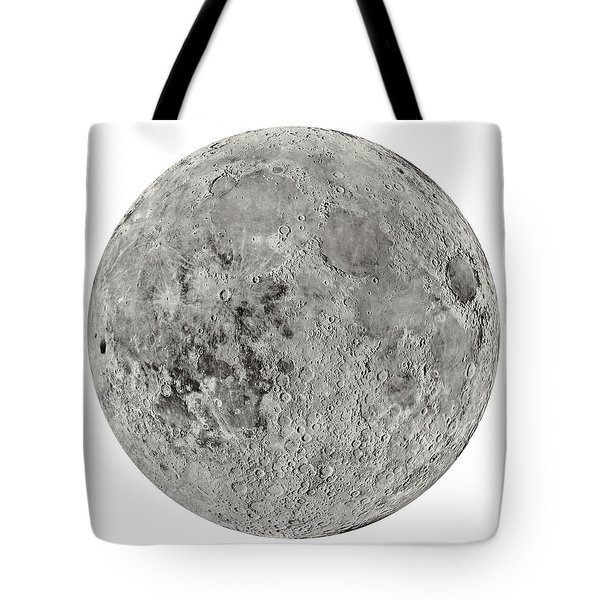 The Moon By The Us Geological Survey - 1960s Tote Bag