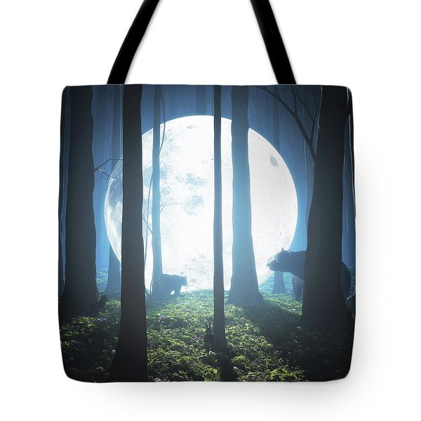 The Moon Landing Tote Bag