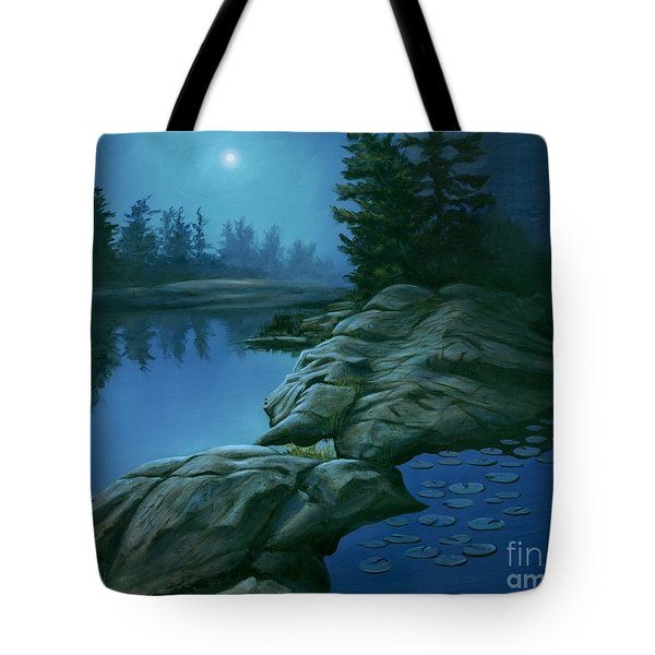 The Moonlight Hour Tote Bag