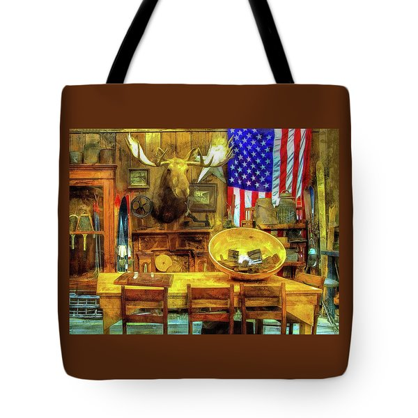 Tote Bag featuring the photograph The Moose by Thom Zehrfeld