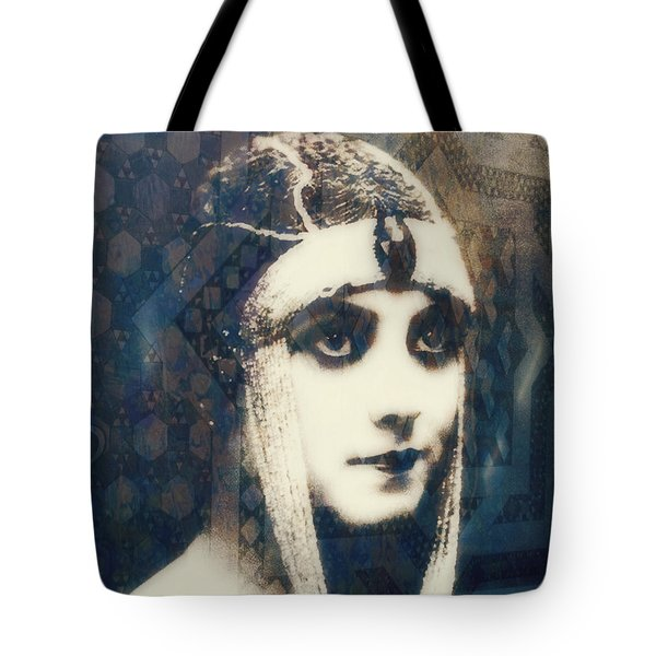 Tote Bag featuring the digital art The More I See You , The More I Want You  by Paul Lovering
