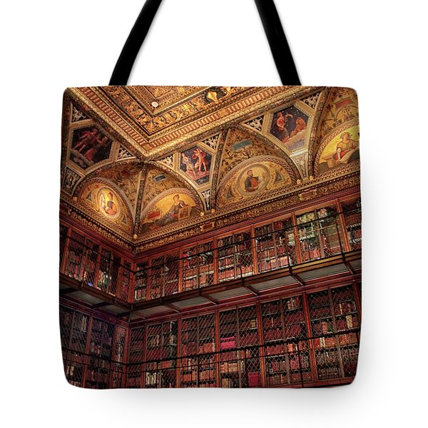 Tote Bag featuring the photograph The Morgan Library by Jessica Jenney
