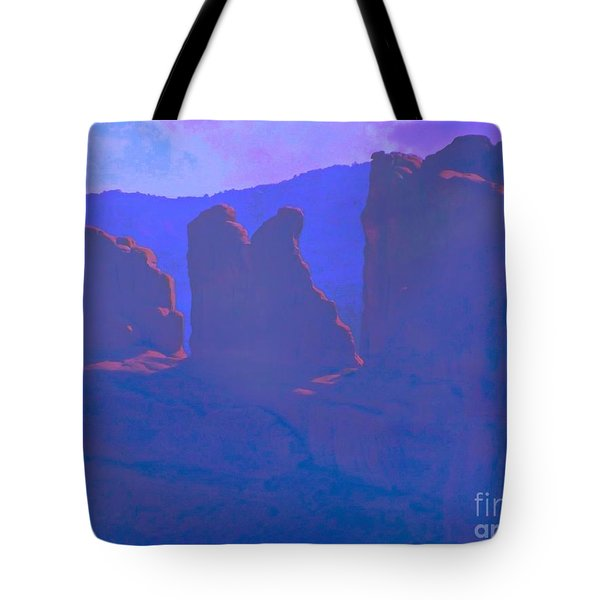 The Morners Tote Bag by Annie Gibbons