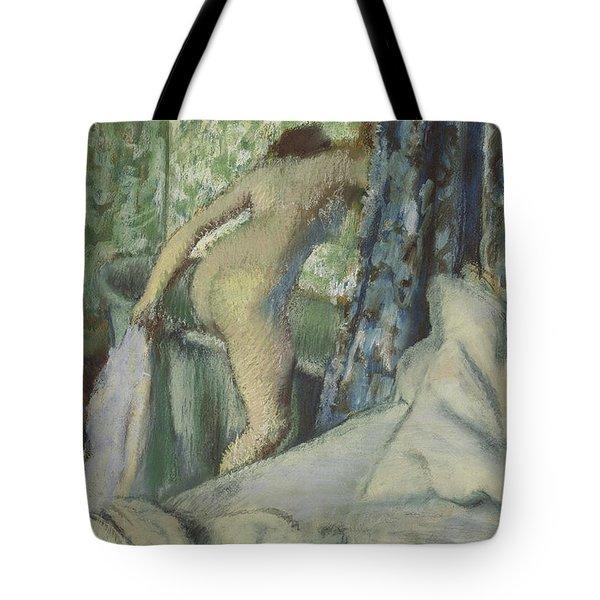 The Morning Bath Tote Bag