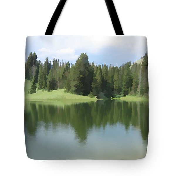 The Morning Calm Tote Bag by Gary Baird