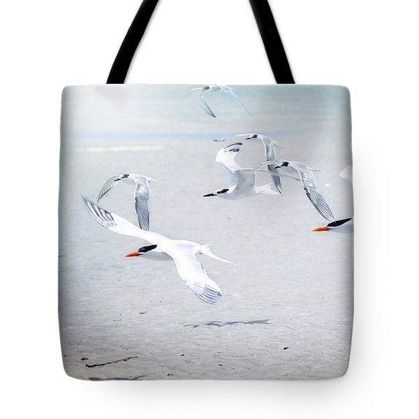 The Morning Rush Tote Bag
