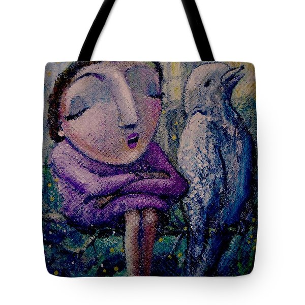 The Morning Song Tote Bag
