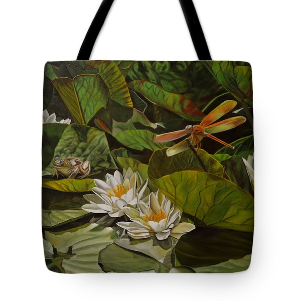 The Morning Symphony Tote Bag