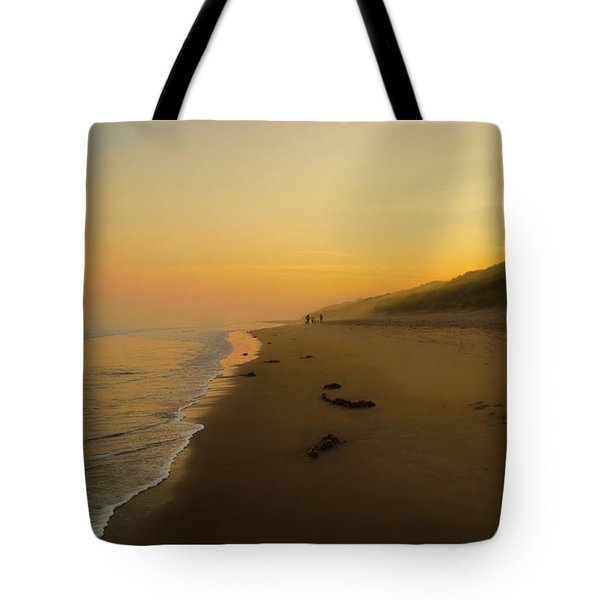 Tote Bag featuring the photograph The Morning Walk by Roy McPeak
