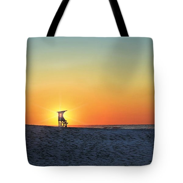 The Morning Watchtower Tote Bag