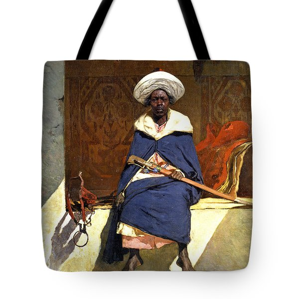 The Moroccan Caid Tahamy Tote Bag