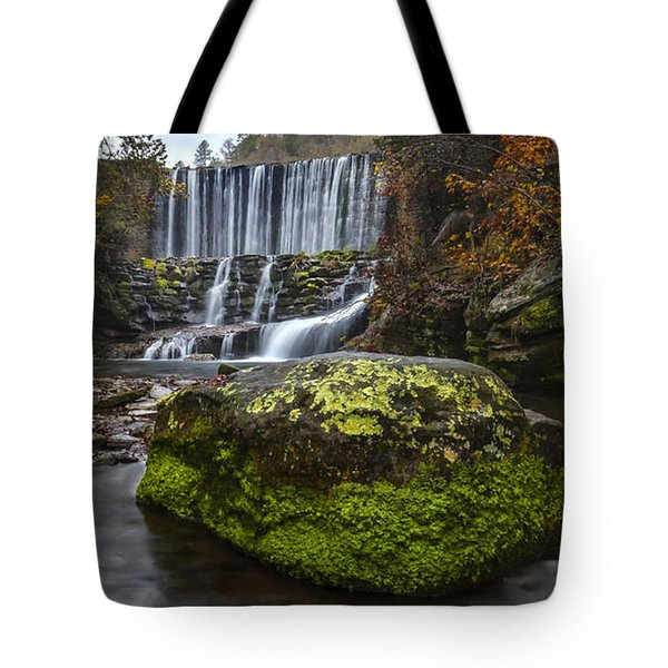 The Mossy Rock Tote Bag
