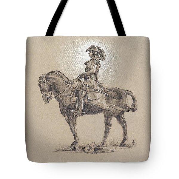 The Most Illustrious John Churchill, First Duke Of Marlborough Tote Bag