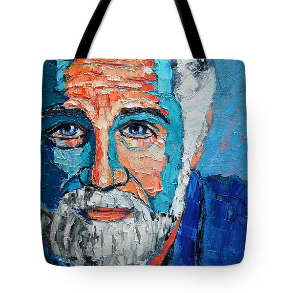 The Most Interesting Man In The World Tote Bag by Ana Maria Edulescu