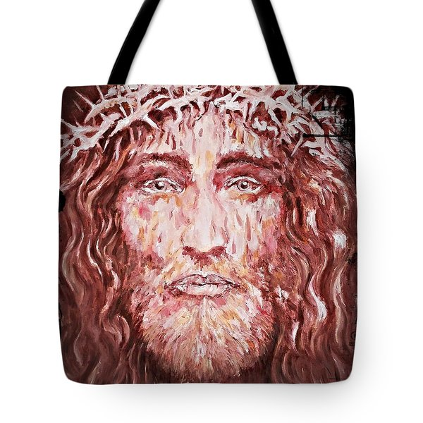 The Most Loved Jesus Christ Tote Bag