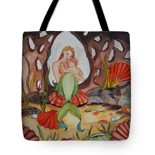 Tote Bag featuring the painting The Most Precious Treasure by Virginia Coyle