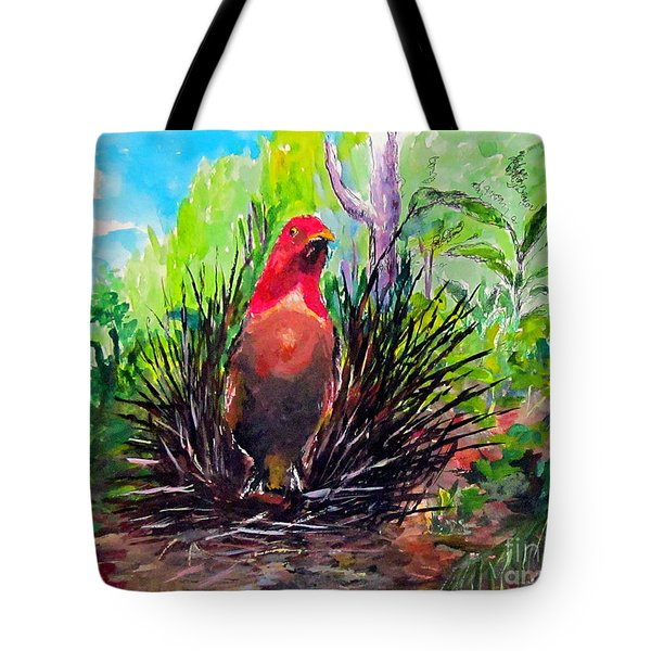 The Most Romantic Birds Tote Bag