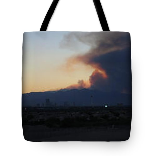 The Mount Charleston Fire Tote Bag