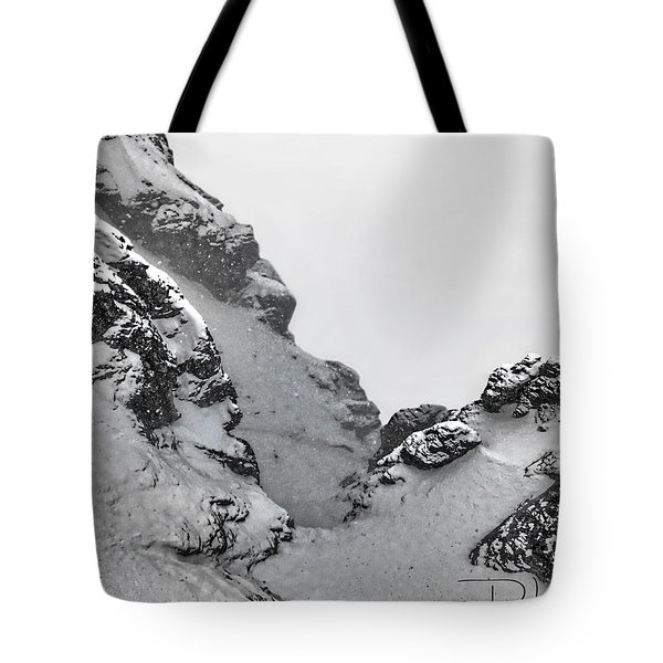 The Mountain Abyss Tote Bag