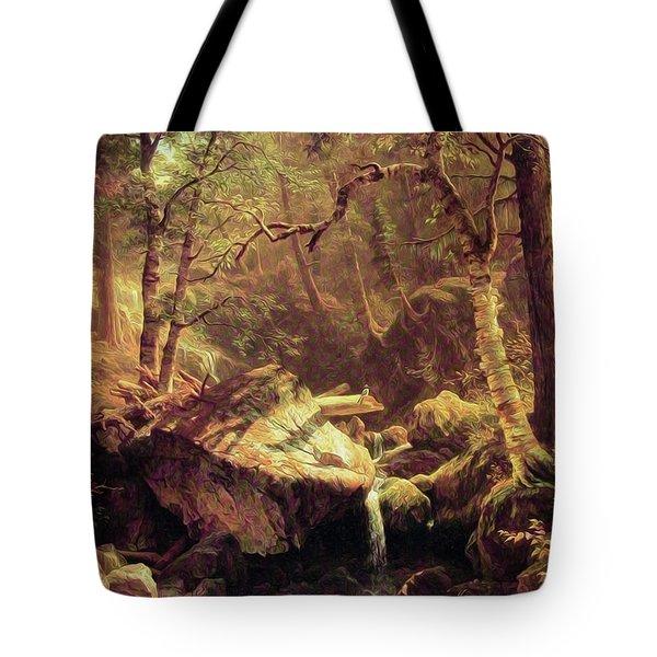 The Mountain Brook Tote Bag