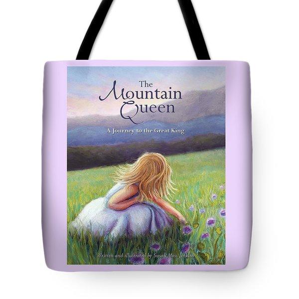 The Mountain Queen Book Cover Tote Bag