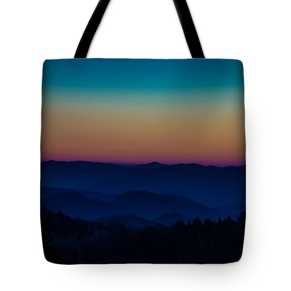 Tote Bag featuring the photograph The Mountains Are Calling by Cathy Donohoue