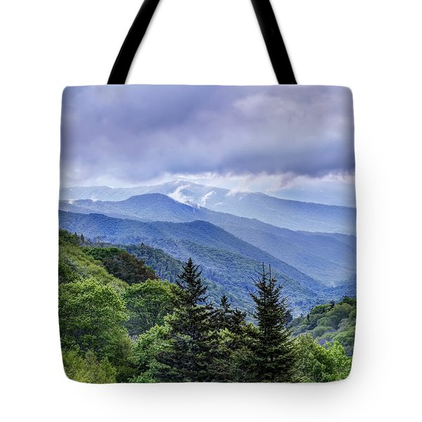 The Mountains Of Great Smoky Mountains National Park Tote Bag