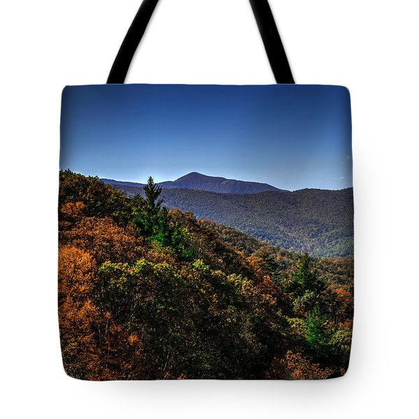 The Mountains Win Again Tote Bag