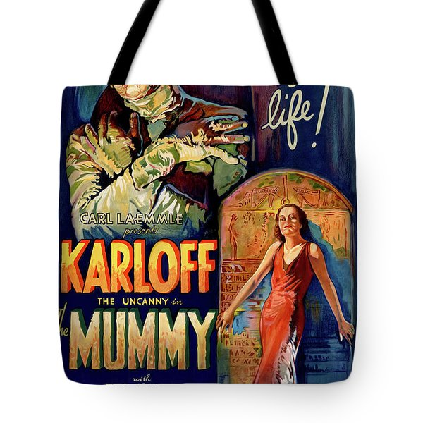 The Mummy 1932 Tote Bag