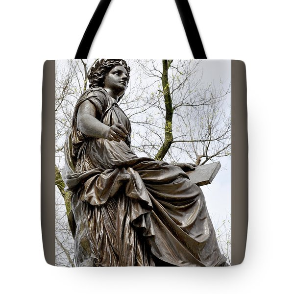 The Muse Of History Tote Bag