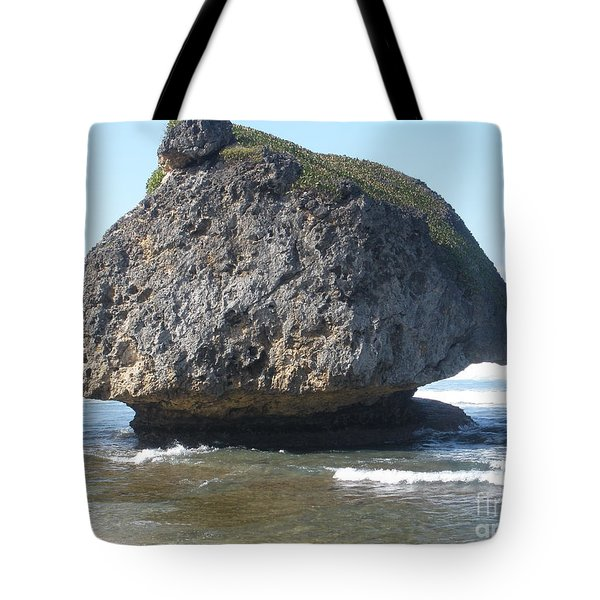 The Mushroom Rock Tote Bag