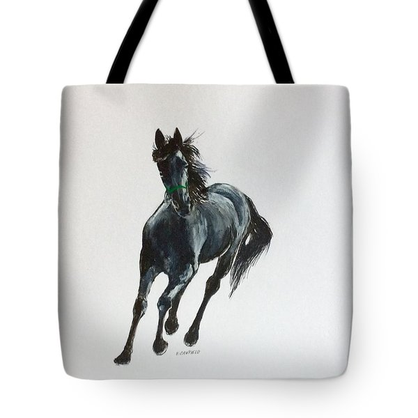 The Mustang Tote Bag by Ellen Canfield