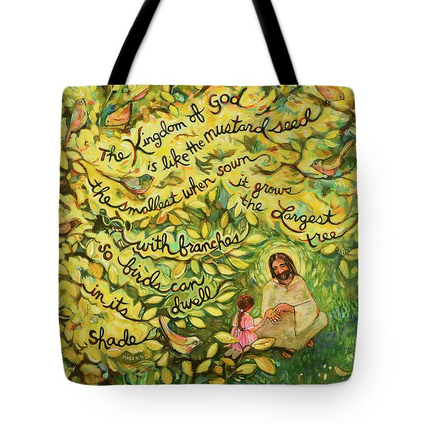 The Mustard Seed Tote Bag