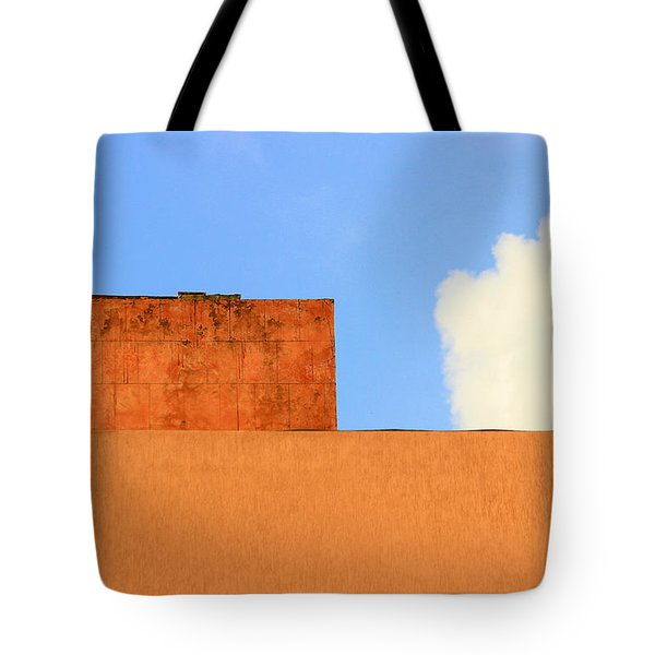 The Muted Cloud Tote Bag