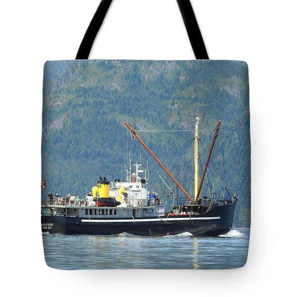 The Mv Uchuck #8 Tote Bag