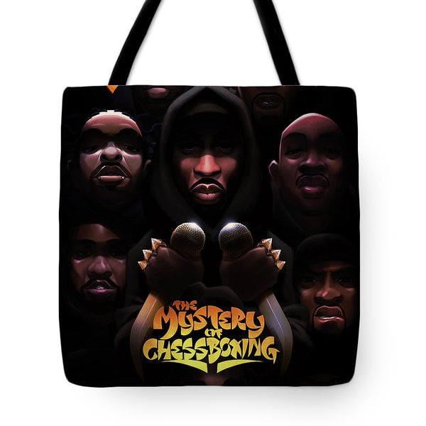 The Mystery Of Chessboxing Tote Bag