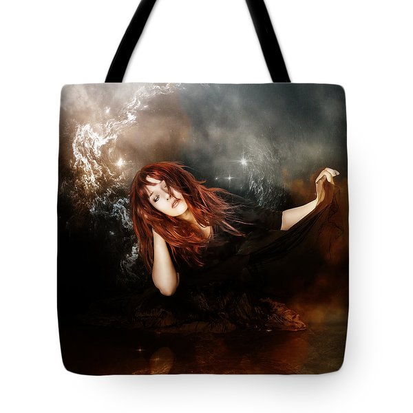 The Mystic Tote Bag by Mary Hood