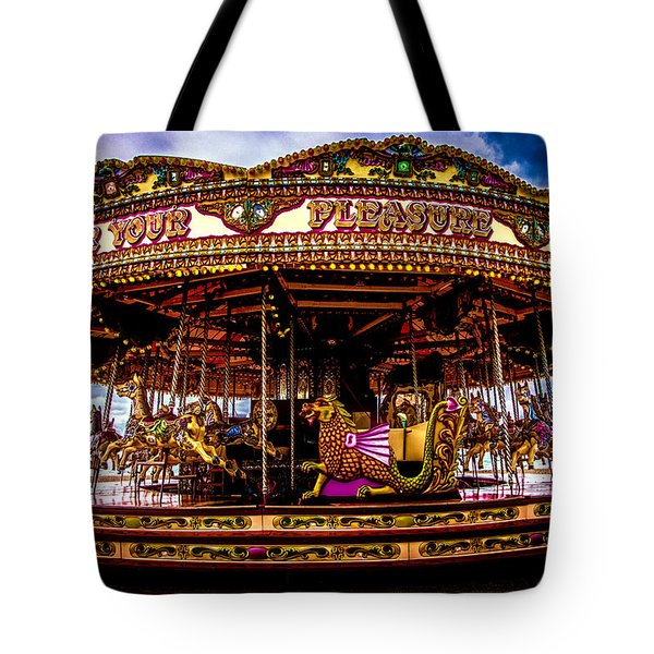 Tote Bag featuring the photograph The Mystical Dragon Chariot by Chris Lord
