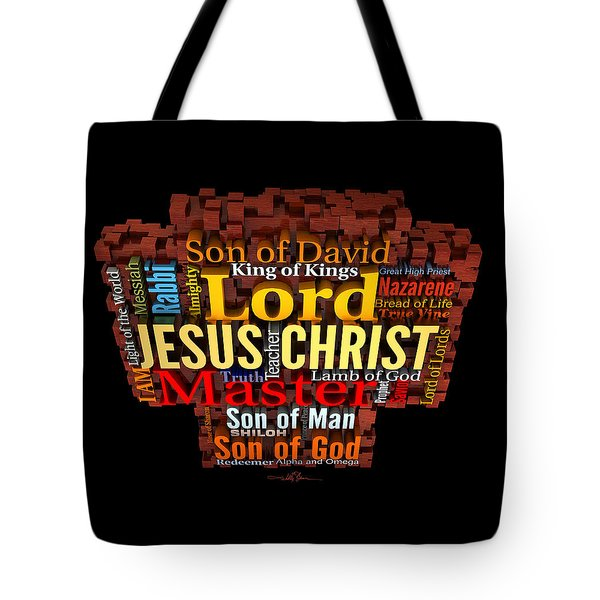 The Names Of The King-2 Tote Bag